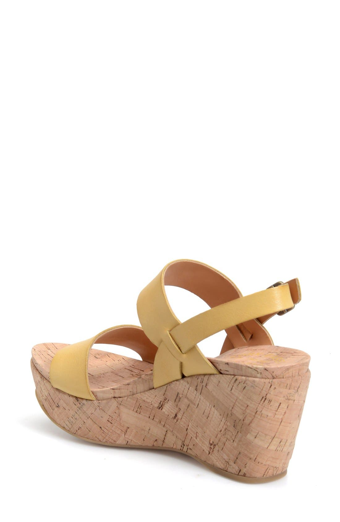 Alternate Image 2  - Kork-Ease® 'Austin' Slingback Wedge Sandal (Women)