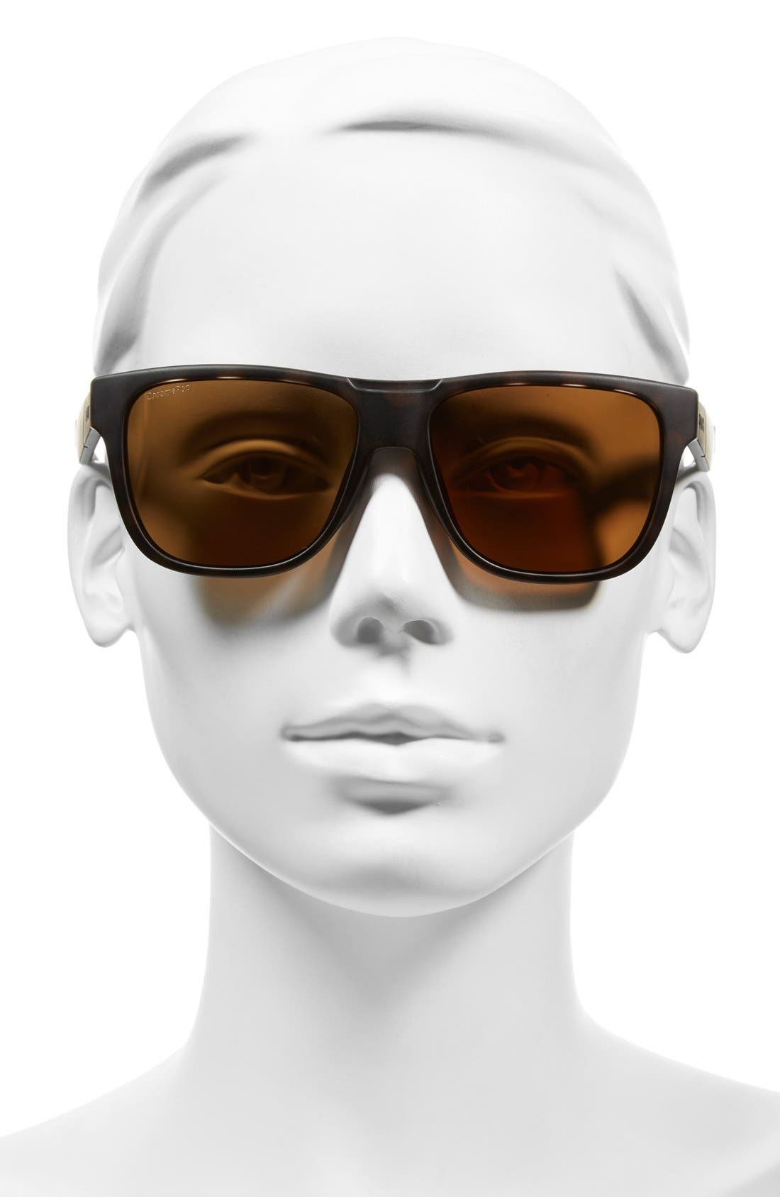 'Lowdown' 56mm Polarized Sunglasses,                             Alternate thumbnail 2, color,                             Matte Tortoise/ Polarized