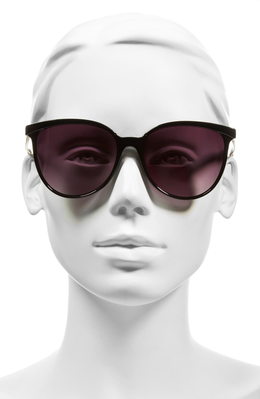 Alternate Image 2  - BP. 56mm Two-Tone Cat Eye Sunglasses