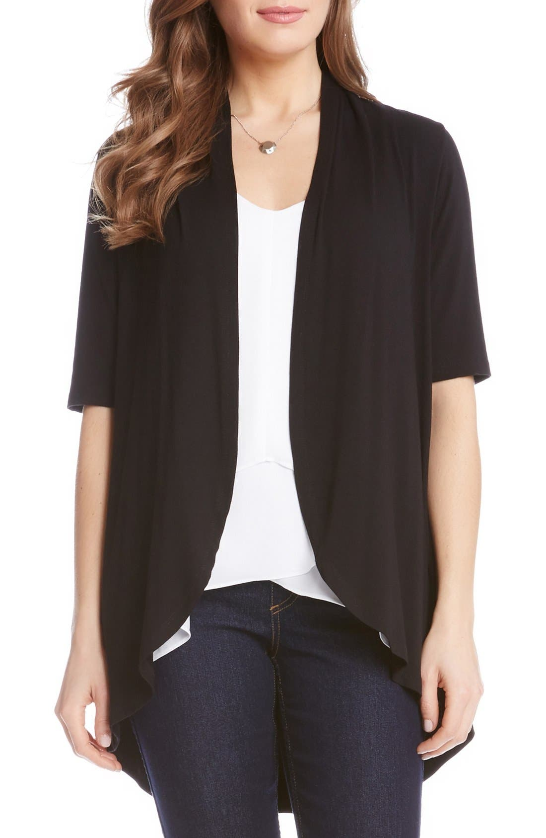 Women's Black Short Sleeve Cardigan Sweaters | Nordstrom