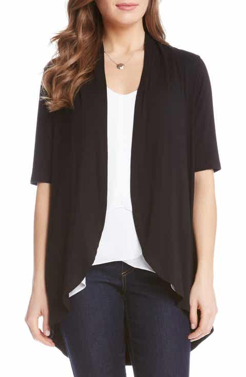 Women's Black Short Sleeve Cardigan Sweaters | Nordstrom