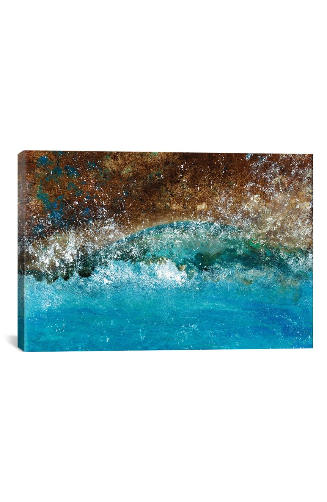 'Distant Shores' Giclée Print Canvas Art,                             Main thumbnail 1, color,                             Brown