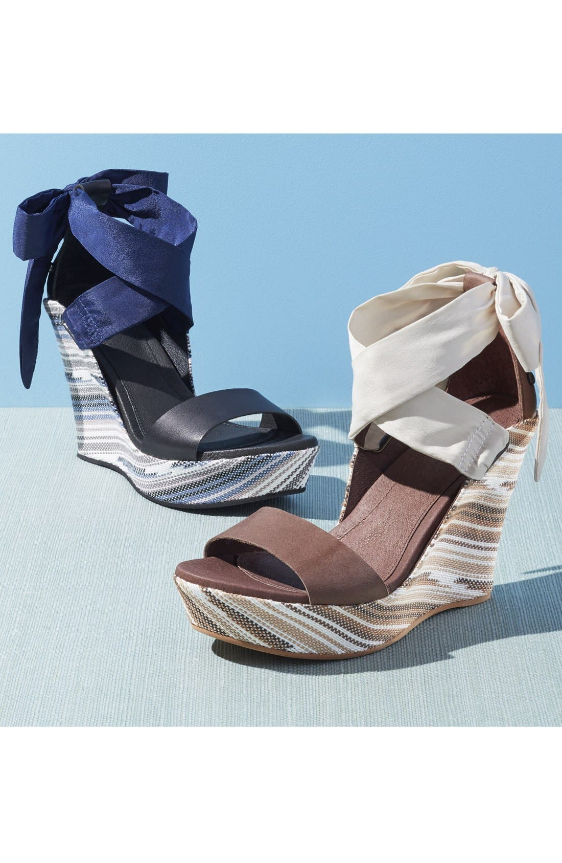 Alternate Image 5  - UGG® 'Jules Serape' Platform Wedge Sandal (Women)