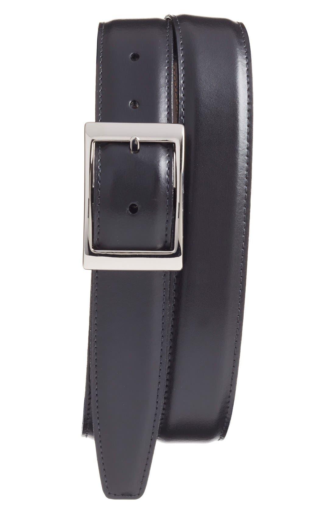 Alternate Image 1 Selected - Torino Belts Reversible Leather Belt