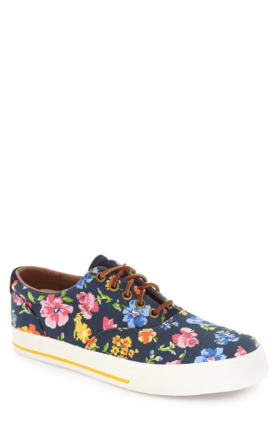 'Vaughn' Sneaker,                         Main,                         color, Navy Multi