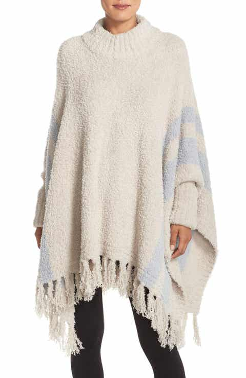 Barefoot Dreams® 'Cozy Chic® Beach' Fringe Lounge Poncho Price