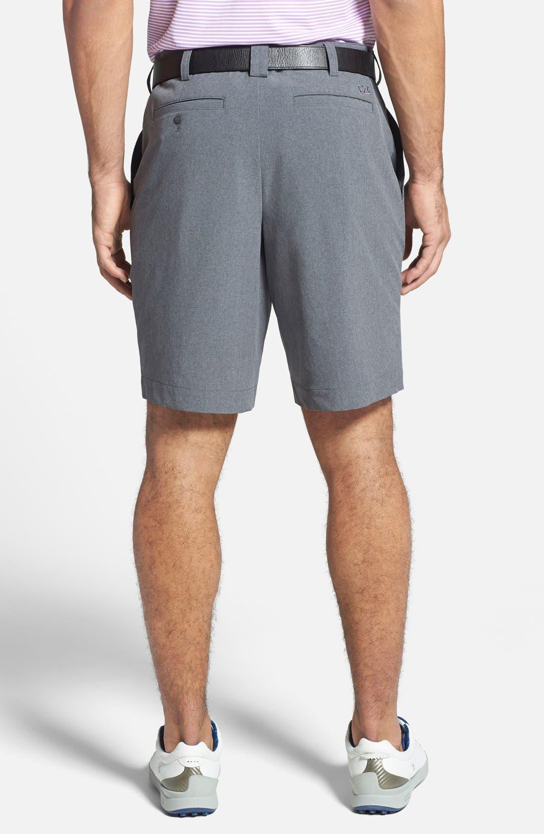 Bainbridge DryTec Flat Front Shorts,                             Alternate thumbnail 2, color,                             Iron Grey
