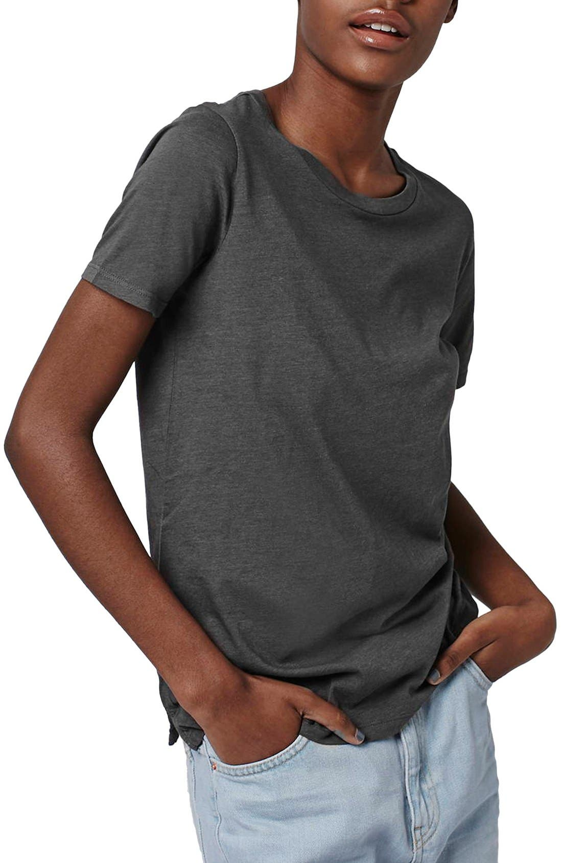 Alternate Image 1 Selected - Topshop Washed Tee