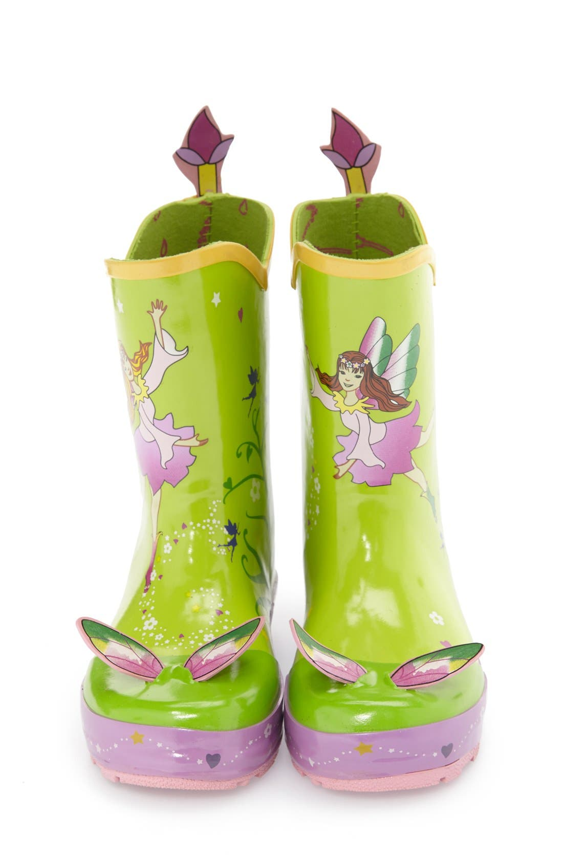 Alternate Image 3  - Kidorable 'Fairy' Waterproof Rain Boot (Walker, Toddler & Little Kid)
