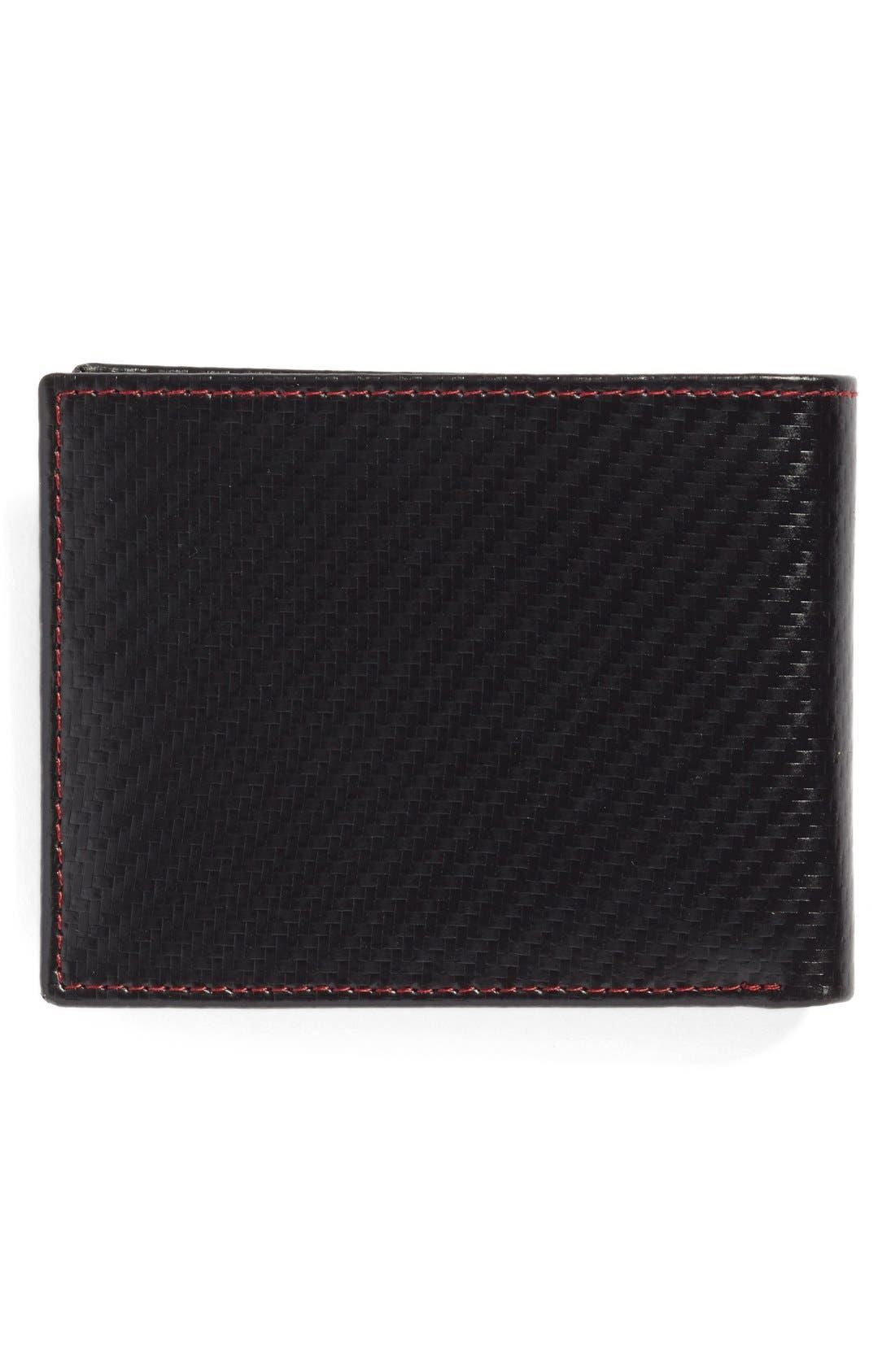 Alternate Image 3  - Johnston & Murphy Flip Billfold Wallet
