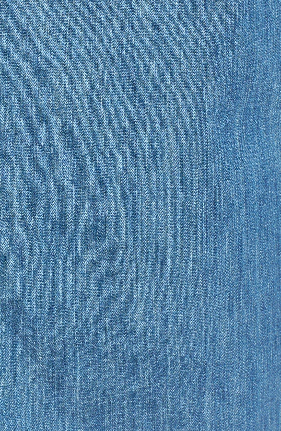 Alternate Image 5  - Treasure&Bond Chambray Midi Shirtdress