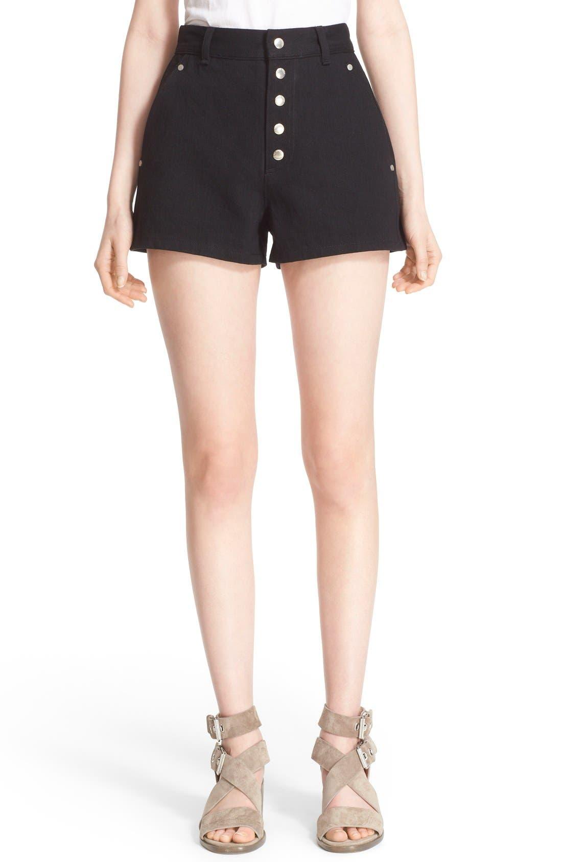 Alternate Image 1 Selected - rag & bone 'Branson' High Waist Shorts