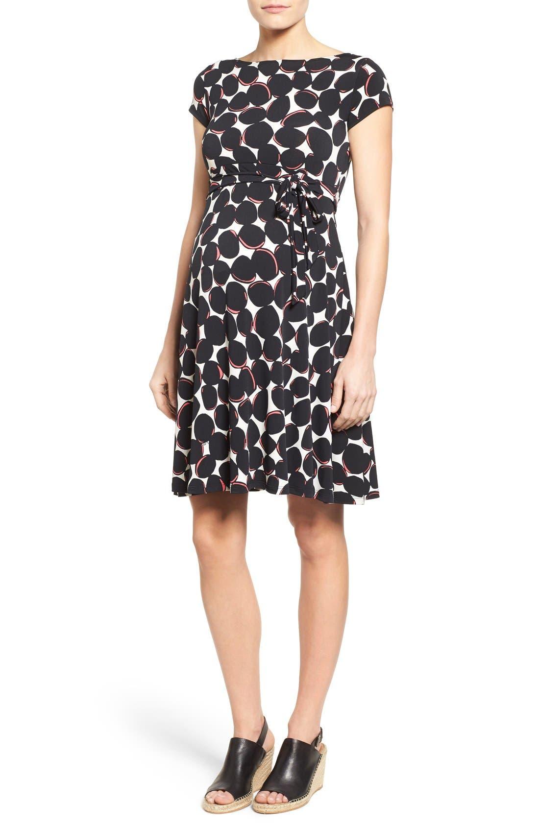 Main Image - Leota 'Ilana' A-Line Maternity Dress