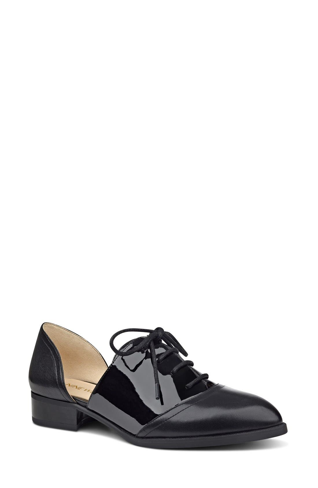 Main Image - Nine West 'Nevie' d'Orsay Oxford (Women)