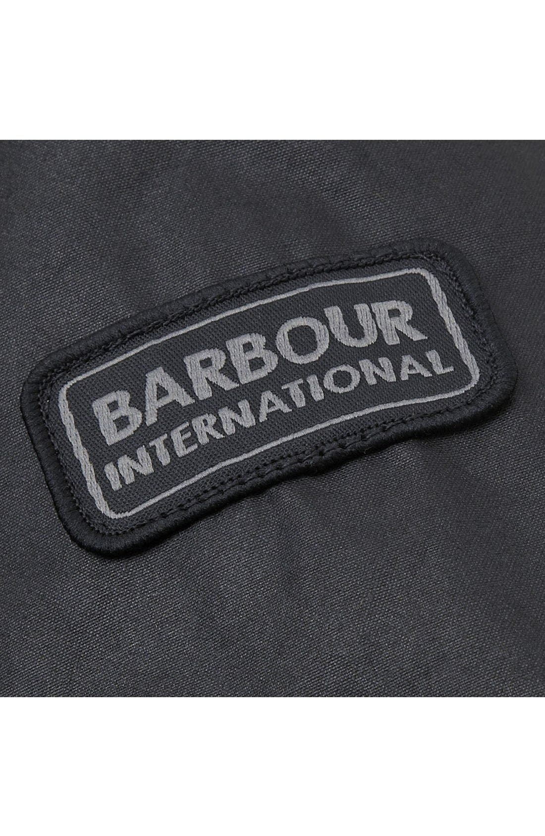 Alternate Image 6  - Barbour 'Duke' Regular Fit Waterproof Waxed Cotton Jacket