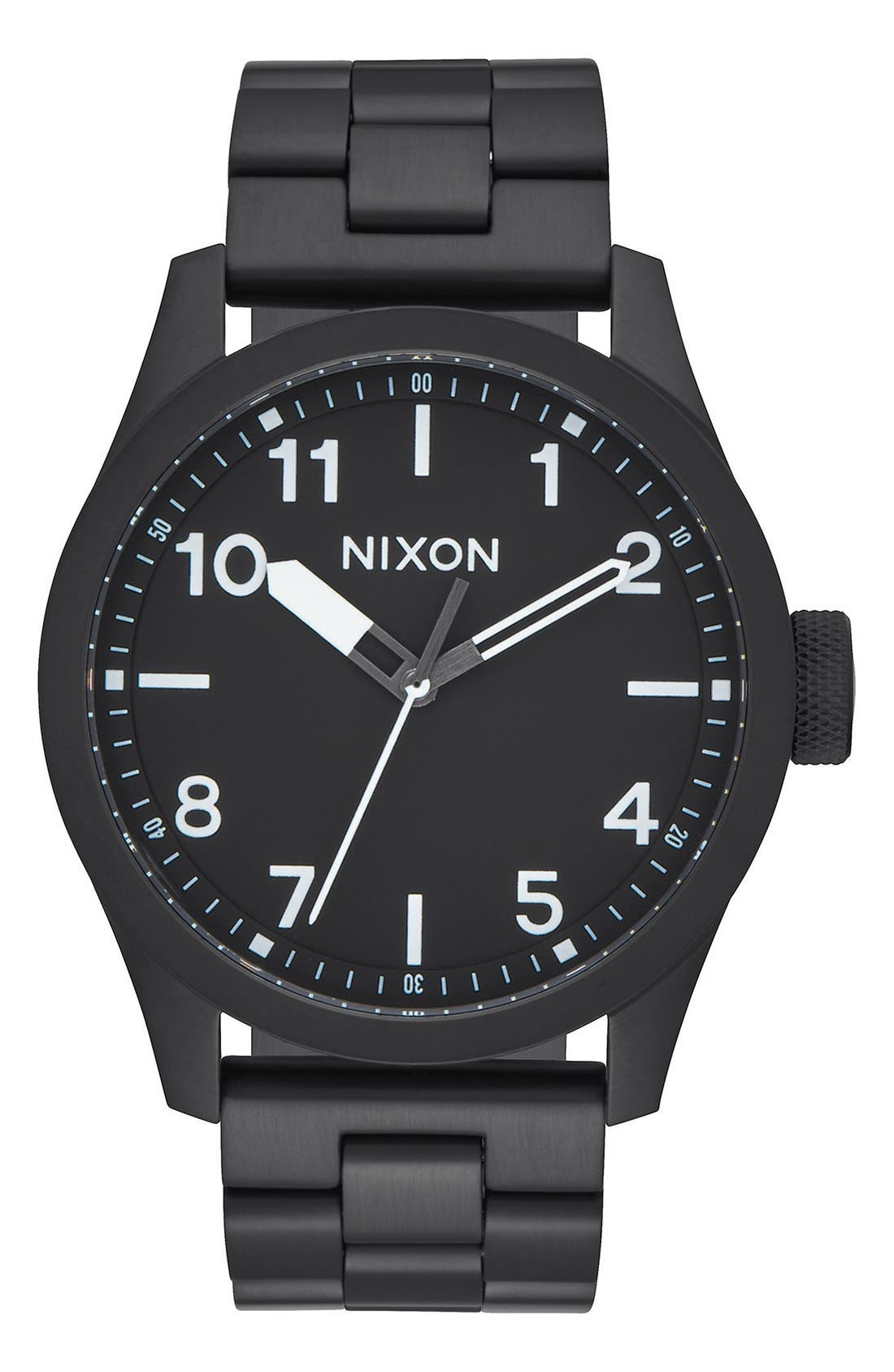 Alternate Image 1 Selected - Nixon 'Safari' Bracelet Watch, 43mm