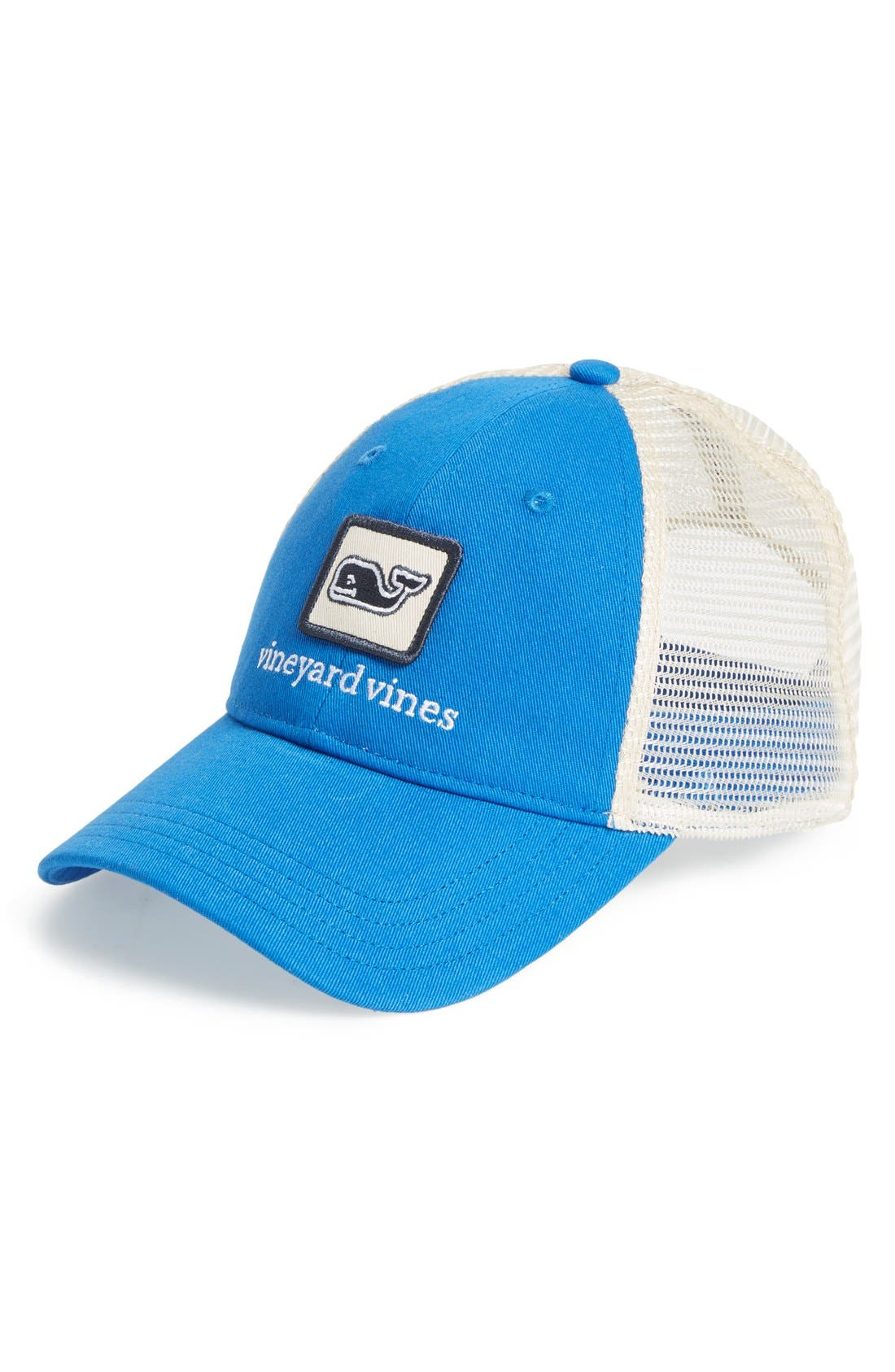 Alternate Image 1 Selected - vineyard vines Whale Patch Trucker Hat