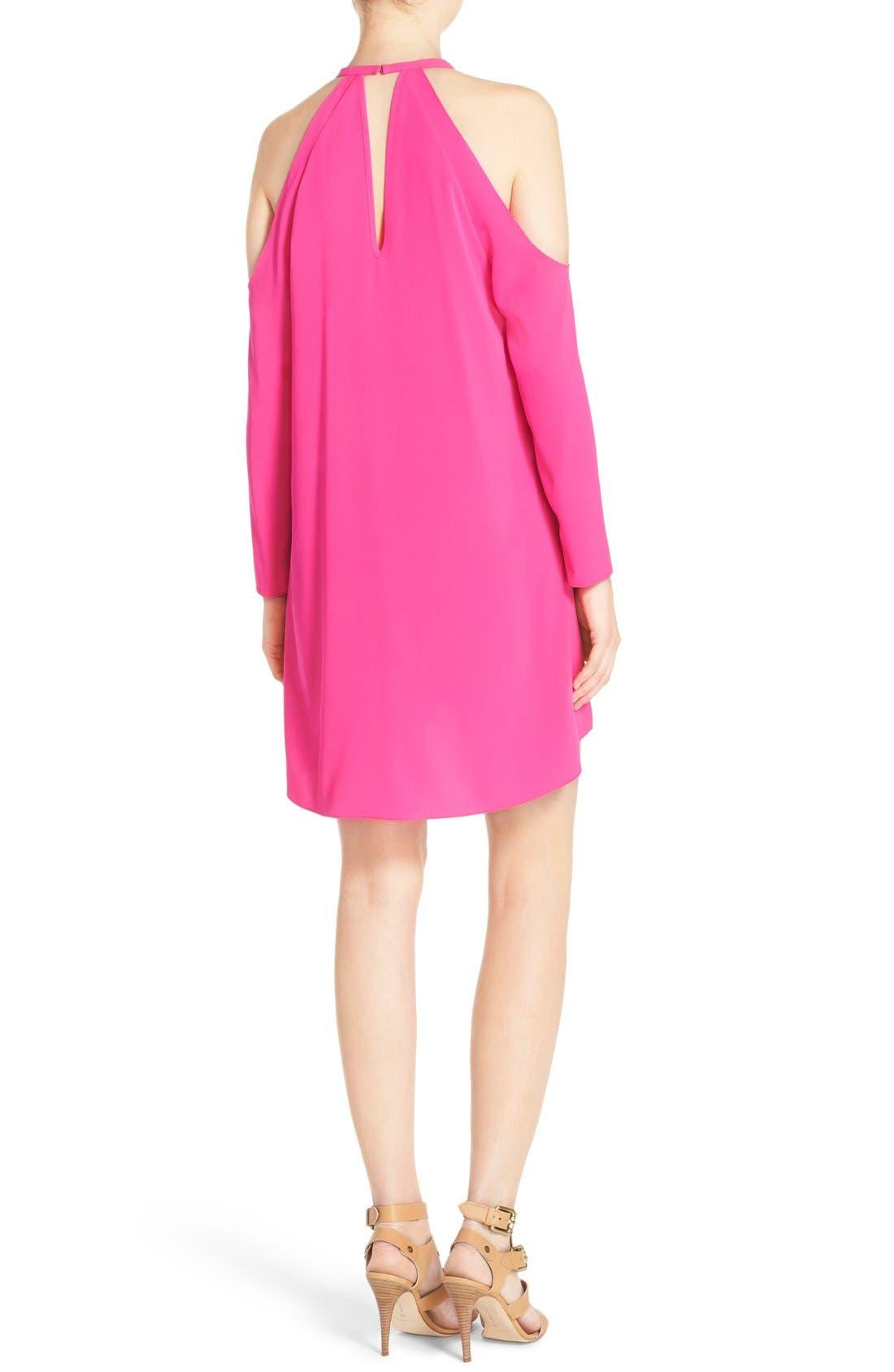 Alternate Image 2  - A by Amanda 'Jasmine' Cold Shoulder Shift Dress