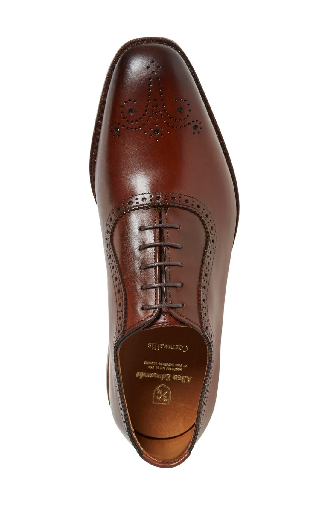 Alternate Image 3  - Allen Edmonds 'Cornwallis' Medallion Toe Oxford (Men)