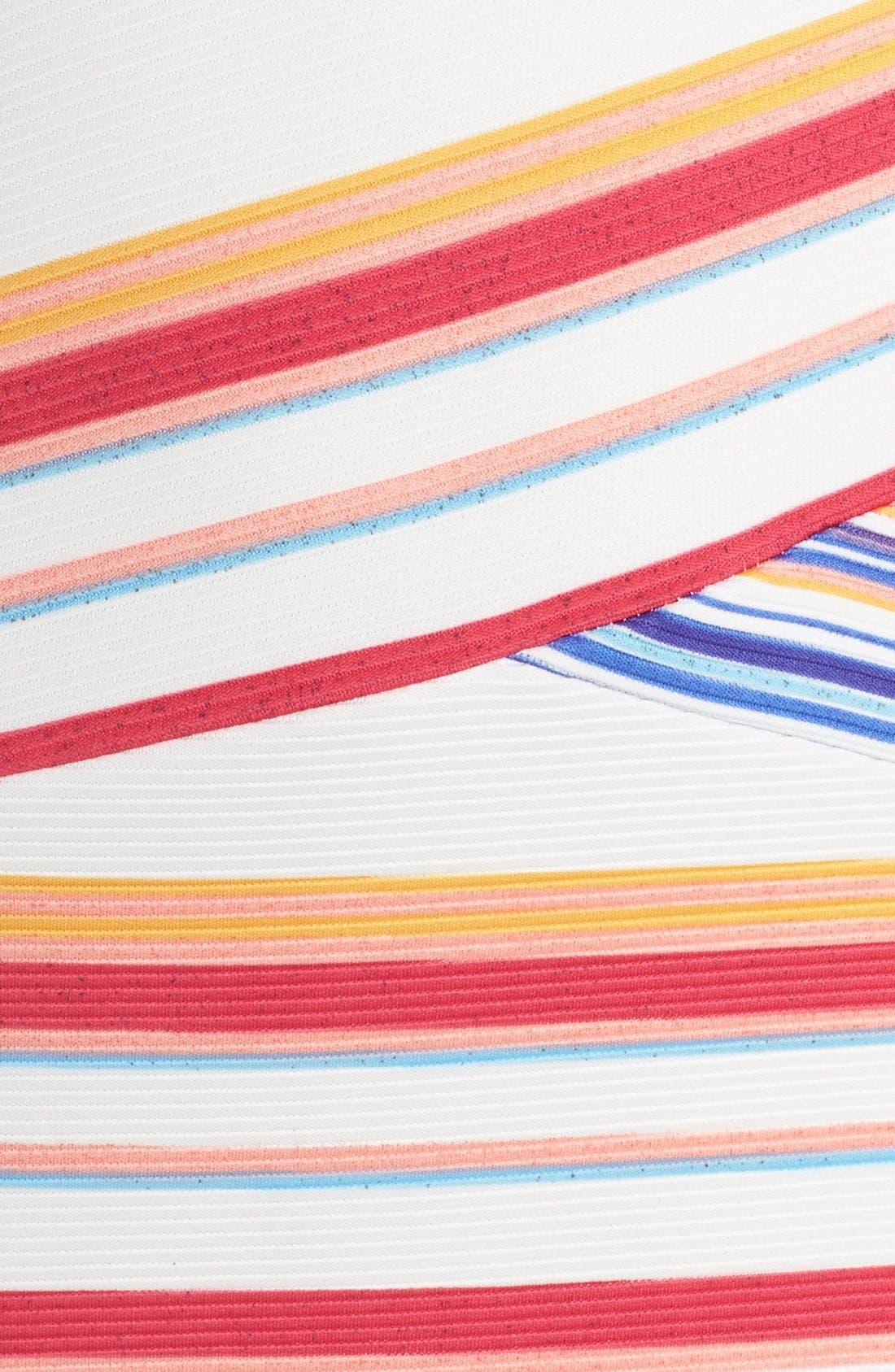 Alternate Image 5  - ECI Stripe Knit Midi Dress