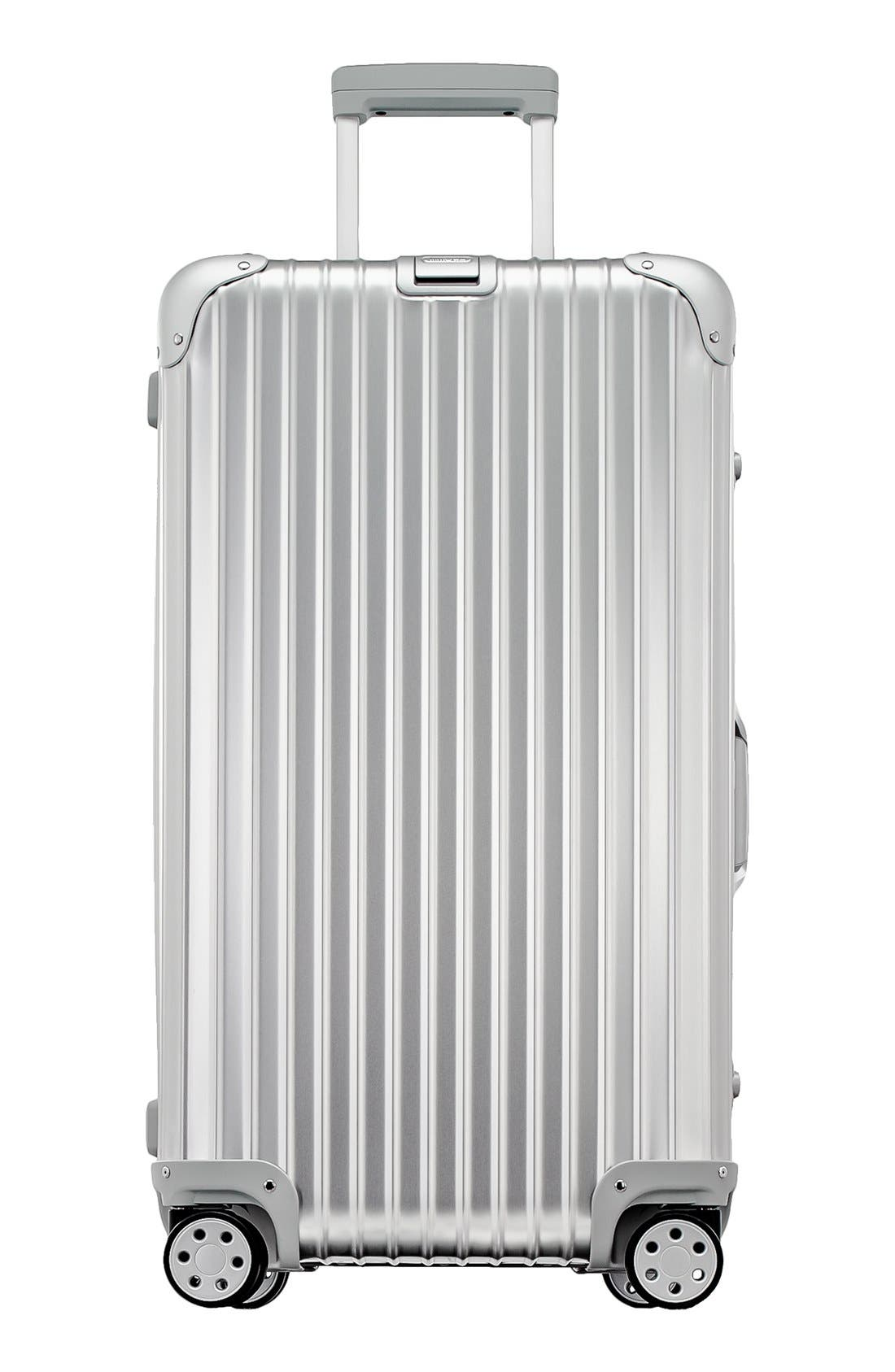 Topas 28-Inch Sport Multiwheel<sup>®</sup> Aluminum Packing Case,                             Main thumbnail 1, color,                             Silver