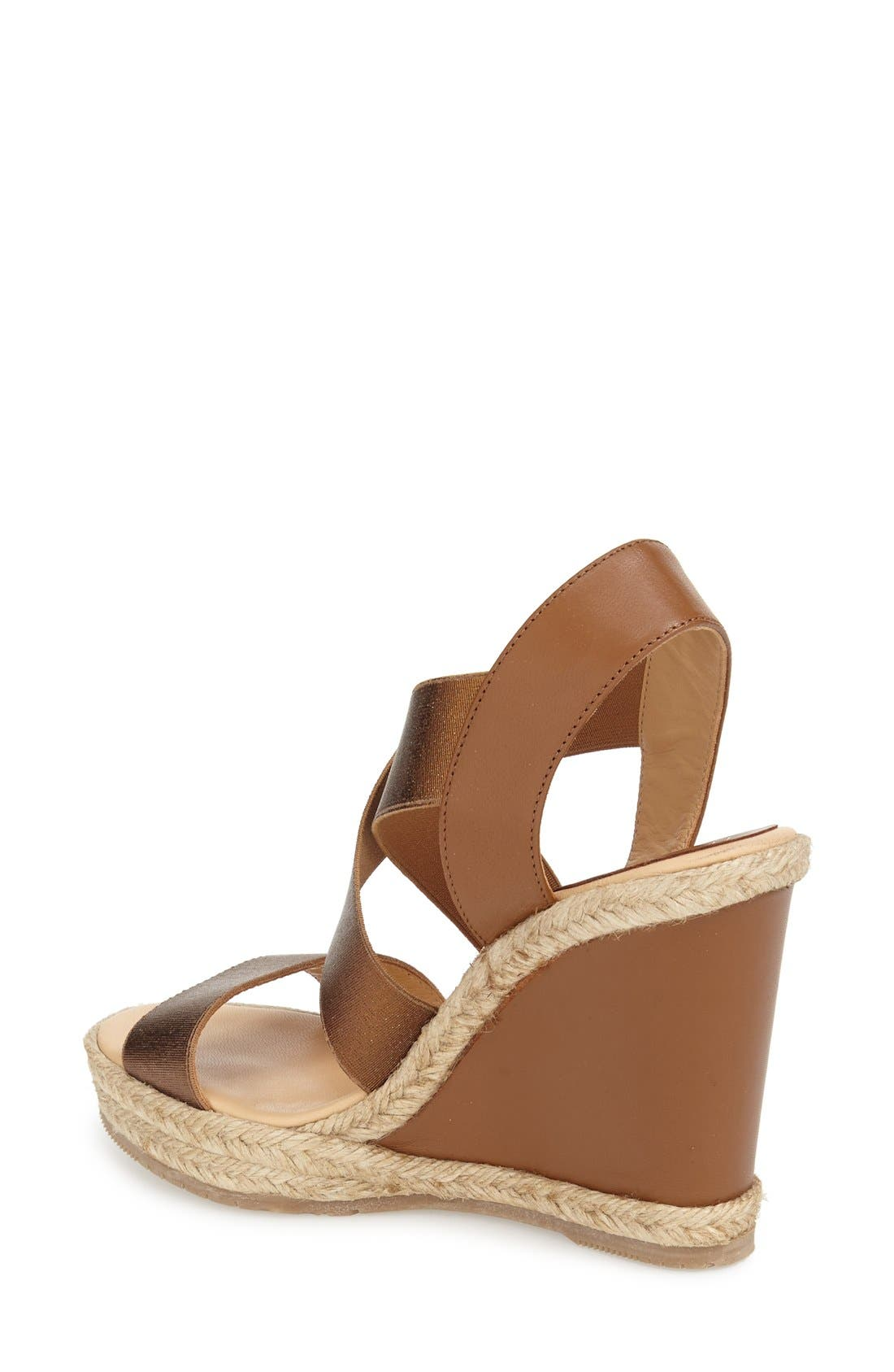 Alternate Image 2  - André Assous 'Cassandra' Wedge Sandal (Women)