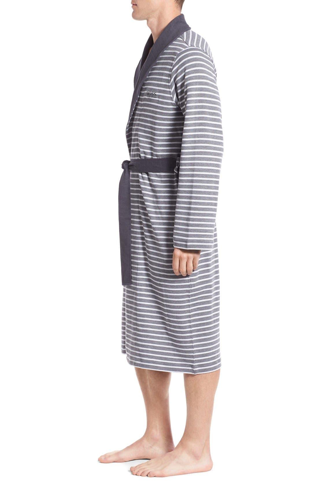 Alternate Image 3  - BOSS 'Maritime' Shawl Collar Robe
