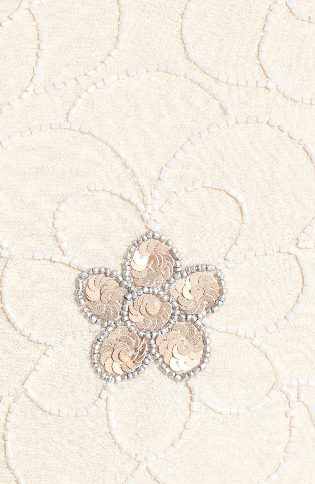 Alternate Image 5  - Lace & Beads 'Sandra' Embellished Skater Dress