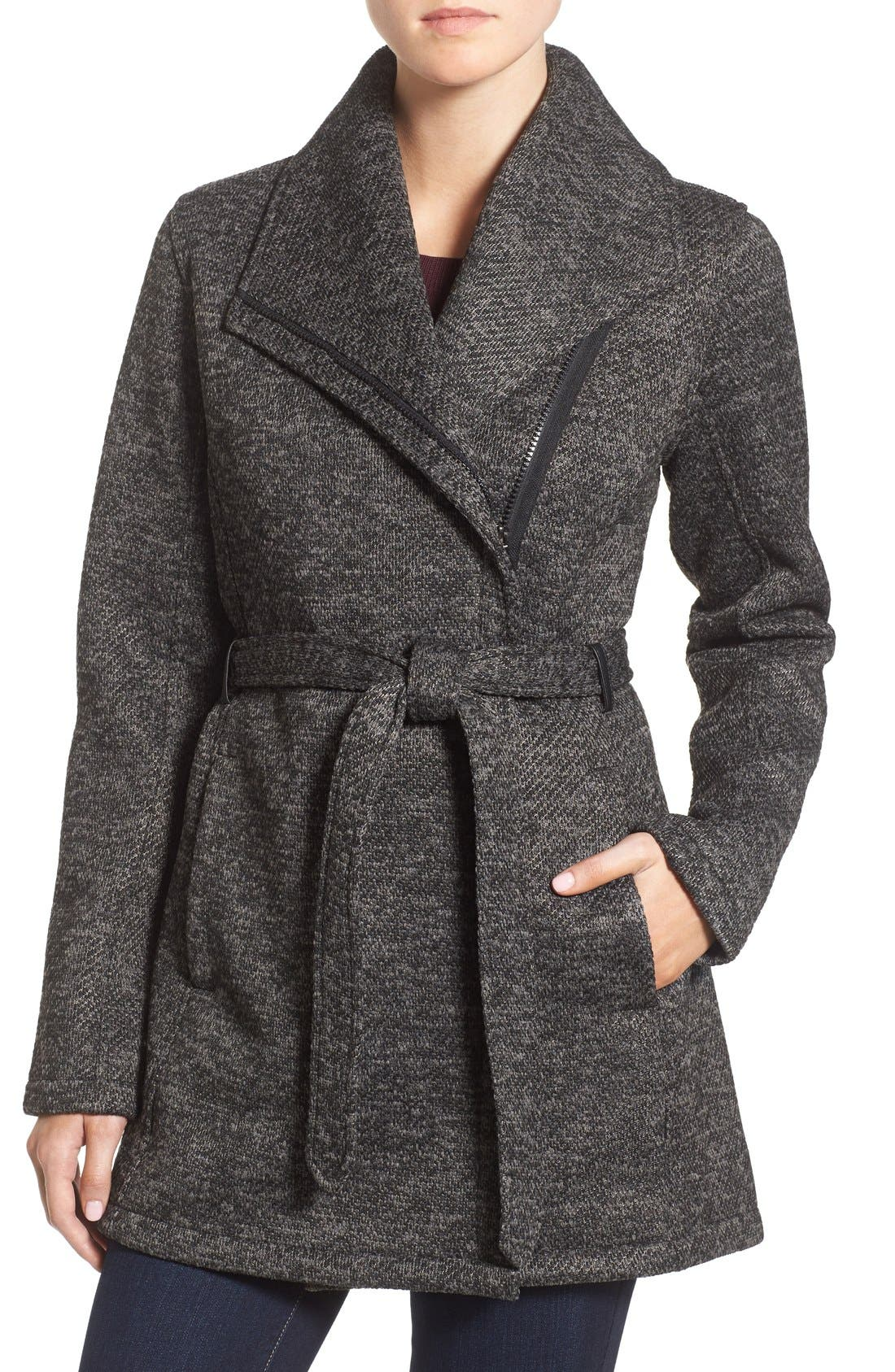 Steve Madden Fleece Wrap Jacket | Nordstrom