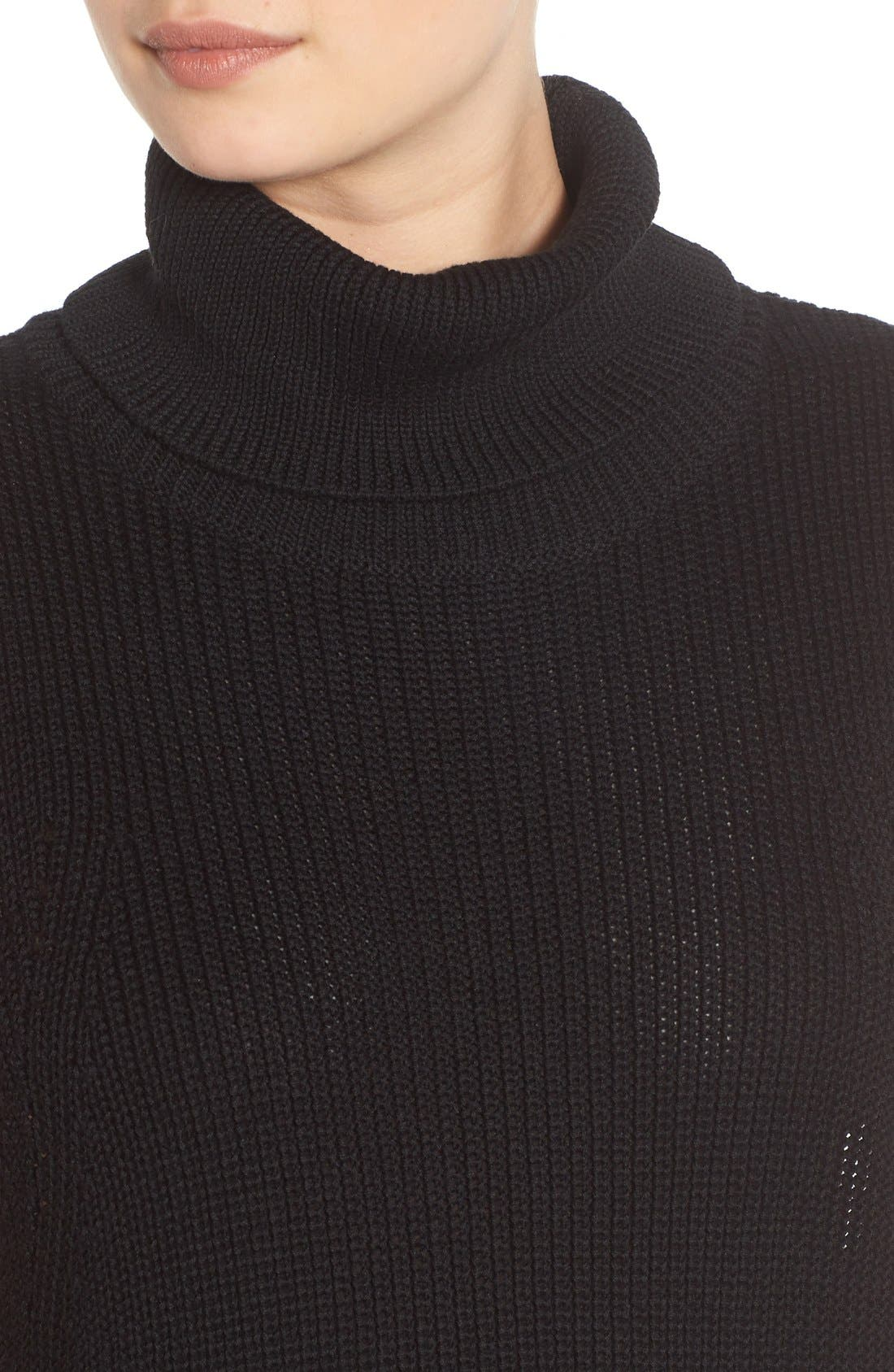 Alternate Image 4  - BP. Sleeveless Turtleneck Sweater