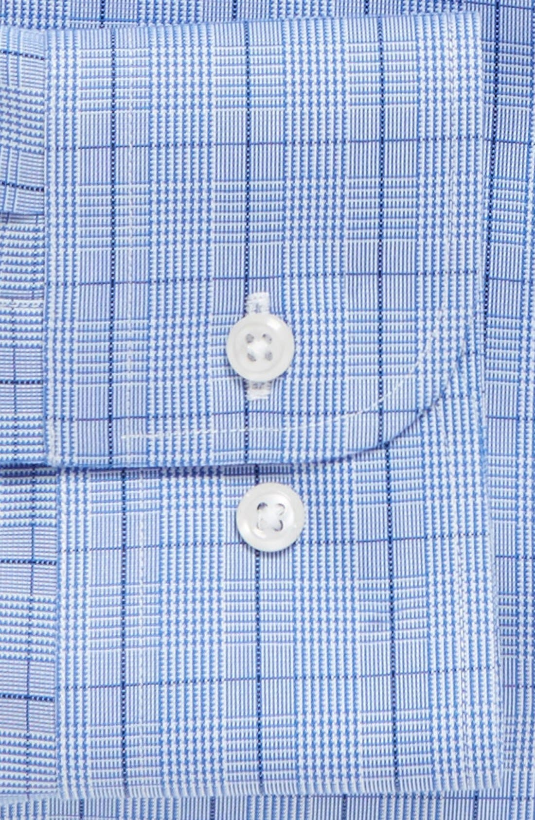Alternate Image 2  - Nordstrom Men's Shop Smartcare™ Trim Fit Plaid Dress Shirt
