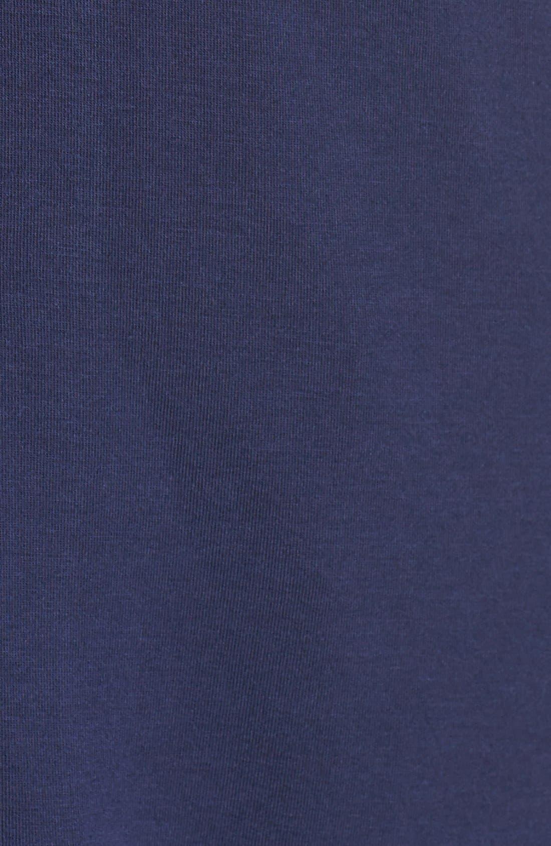 Moonlight Pajamas,                             Alternate thumbnail 5, color,                             Navy Peacoat