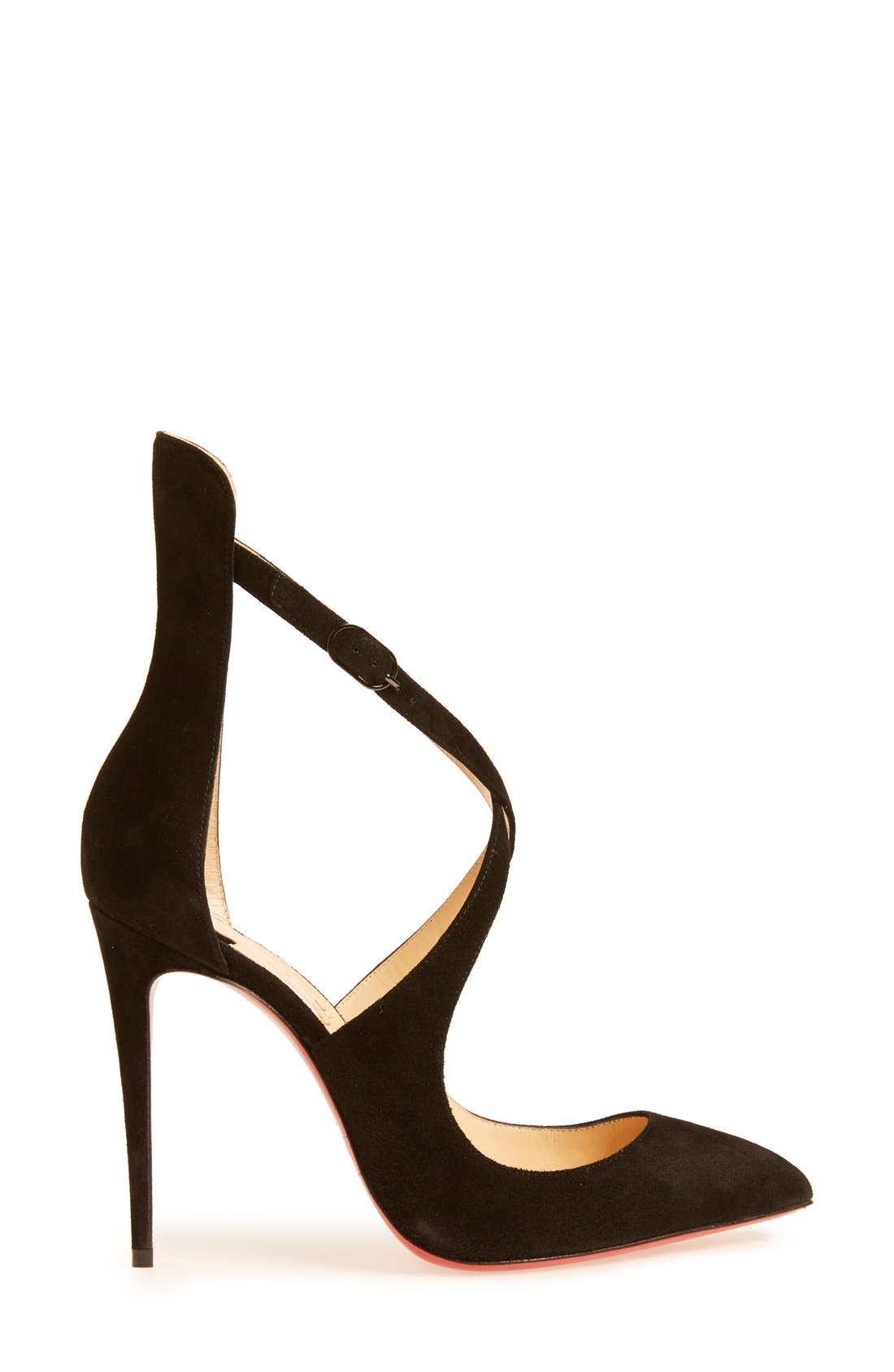 Alternate Image 4  - Christian Louboutin Marlena Rock Pointy Toe Pump