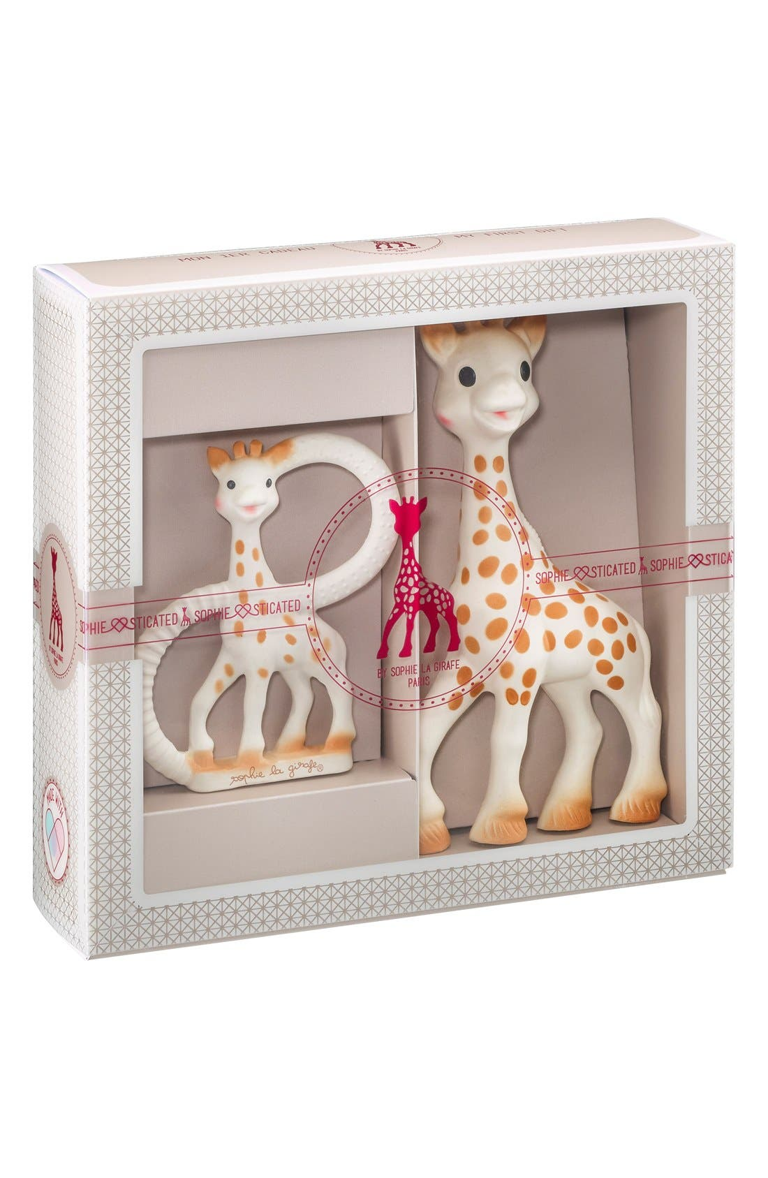 Sophie la Girafe 'Sophiesticated' Ring Teether & Teething Toy