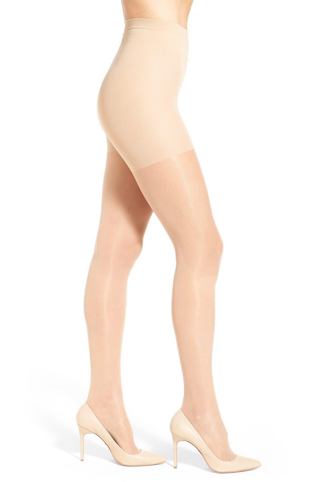 Sheer Stockings,                             Main thumbnail 1, color,                             Natural
