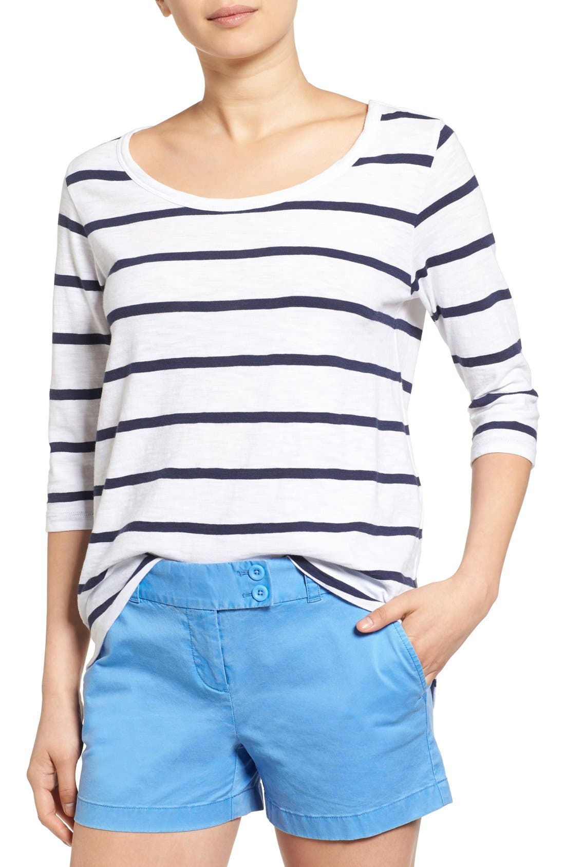 Alternate Image 1 Selected - Vineyard Vines 'Anguilla' Stripe Tee