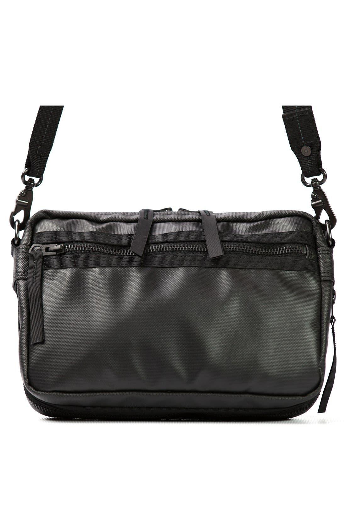 'NightHawk' Shoulder Bag,                             Alternate thumbnail 2, color,                             Black