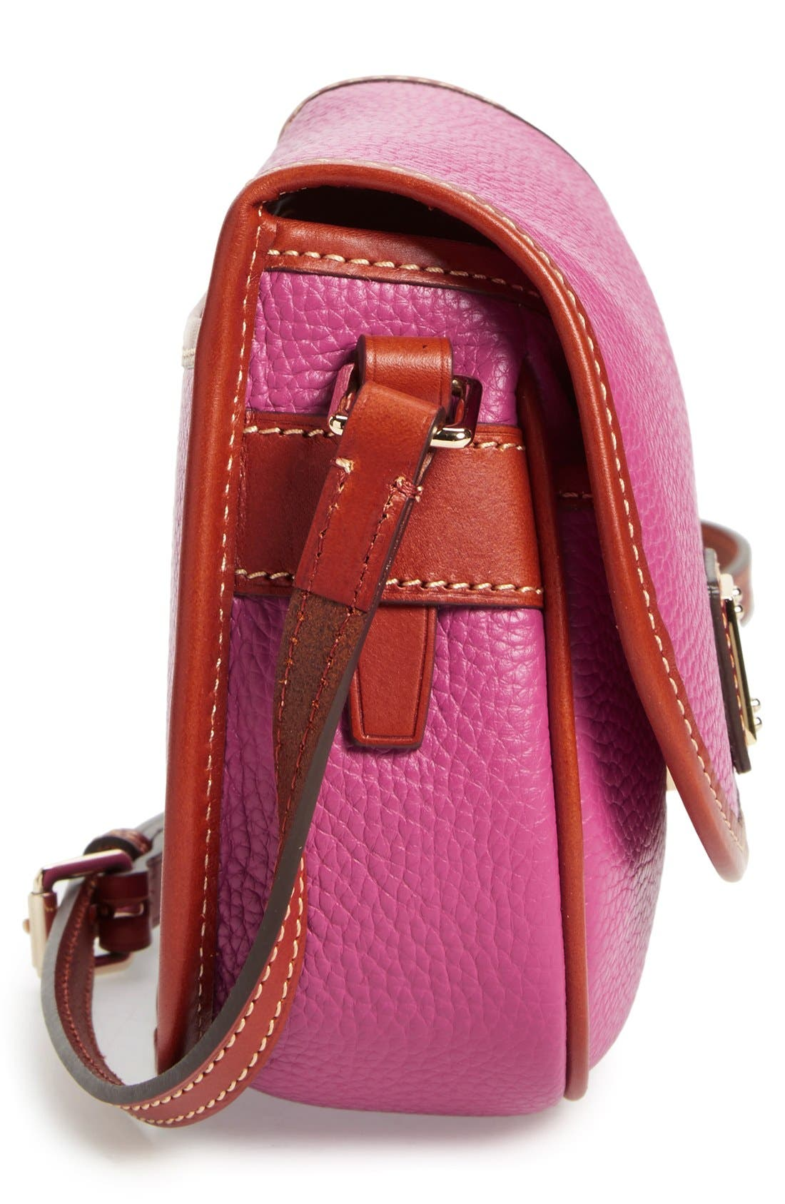 Alternate Image 5  - Dooney & Bourke 'Hallie' Leather Crossbody Bag