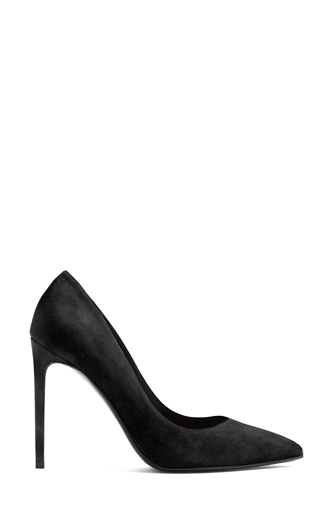 Alternate Image 4  - Saint Laurent 'Paris Skinny' Pointy Toe Pump (Women)