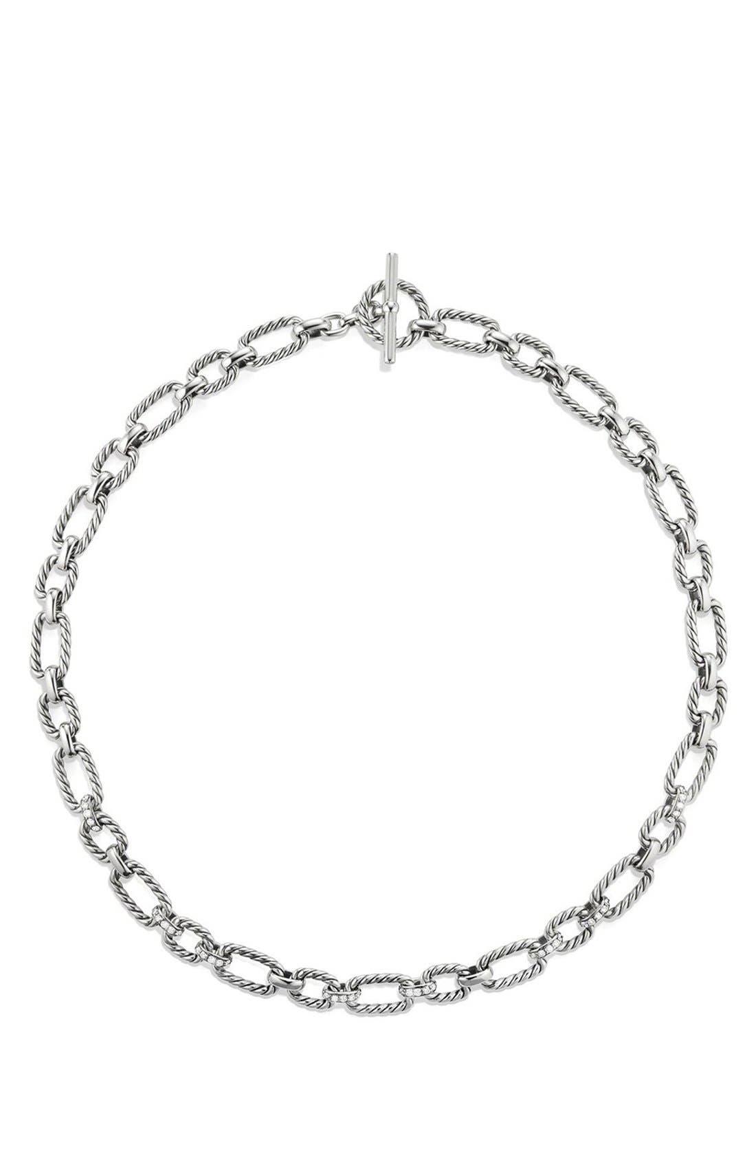 Alternate Image 2  - David Yurman 'Cushion' Link Necklace