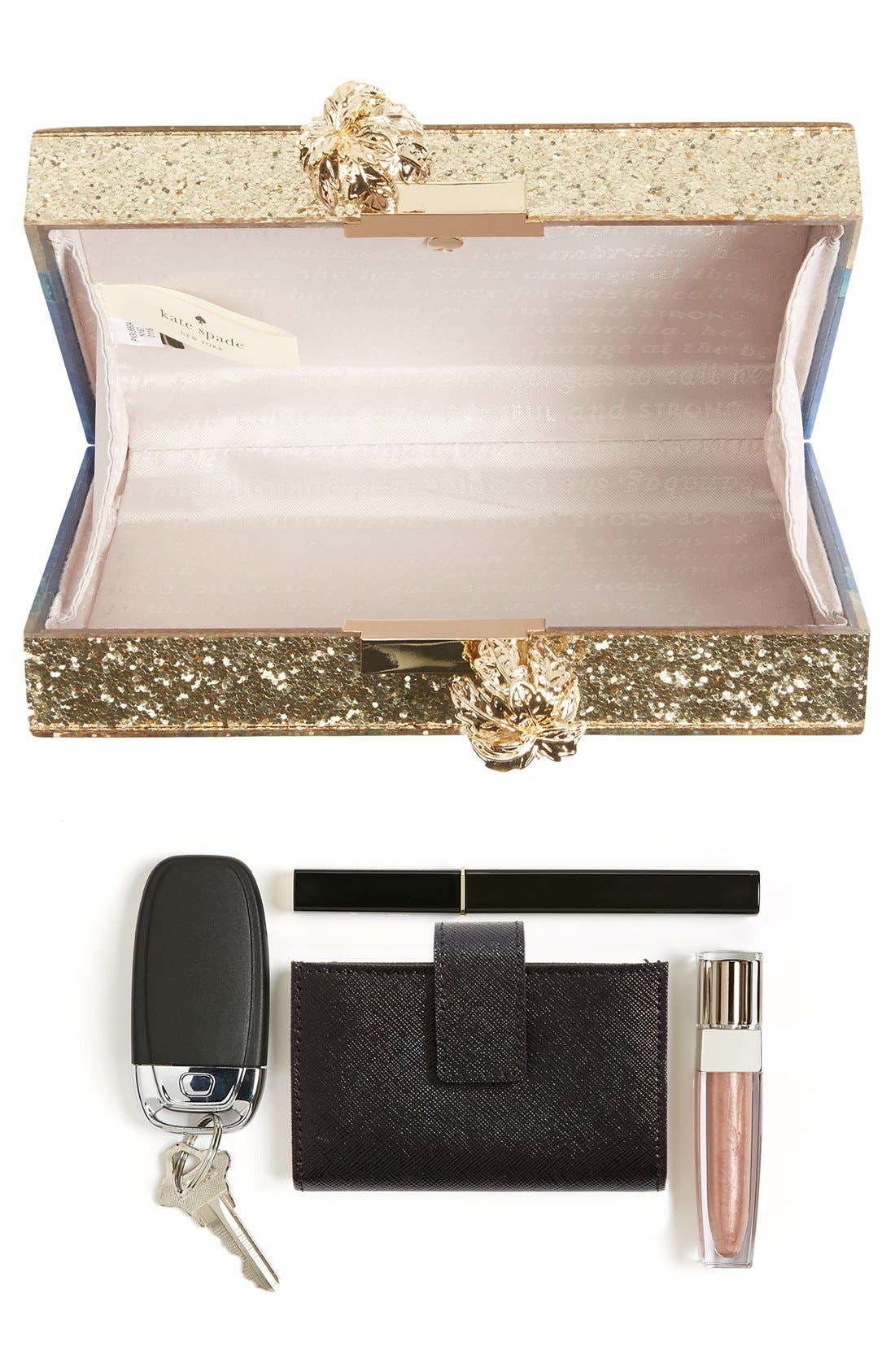 Alternate Image 7  - kate spade new york 'i need a vacation' box clutch