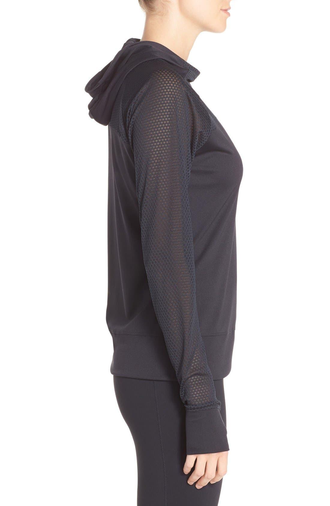 Alternate Image 3  - Nike 'Run Fast' Hooded Dri-FIT Pullover