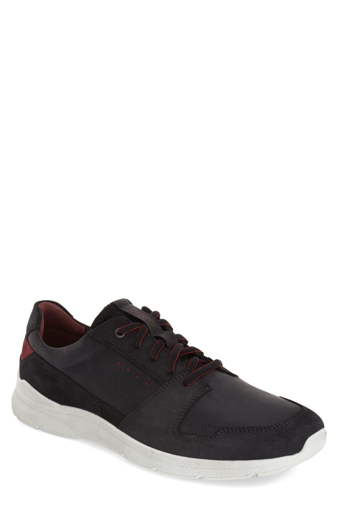 Alternate Image 1 Selected - ECCO 'Irondale - Retro' Sneaker (Men)