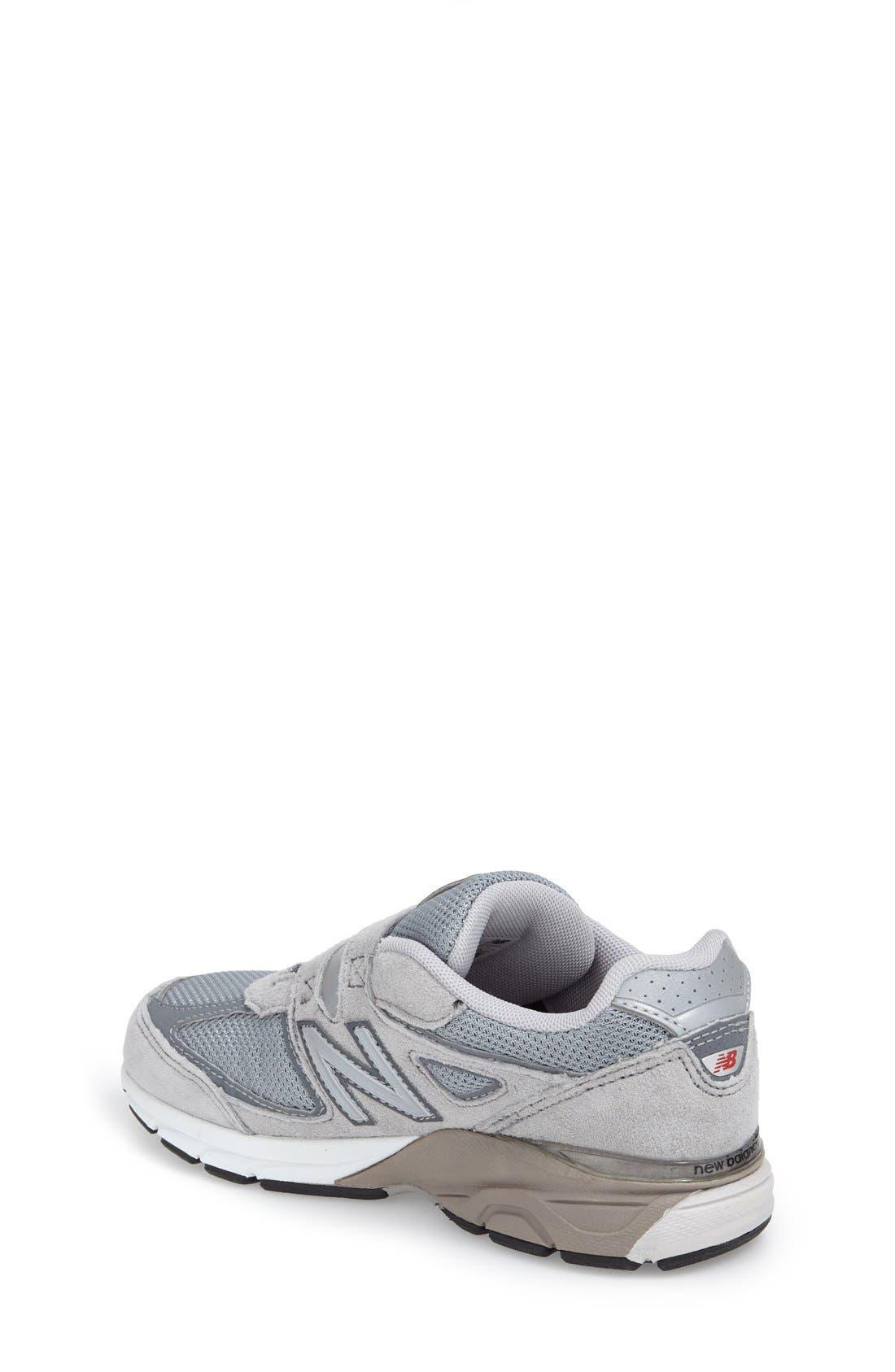 '990v4' Sneaker,                             Alternate thumbnail 2, color,                             Grey