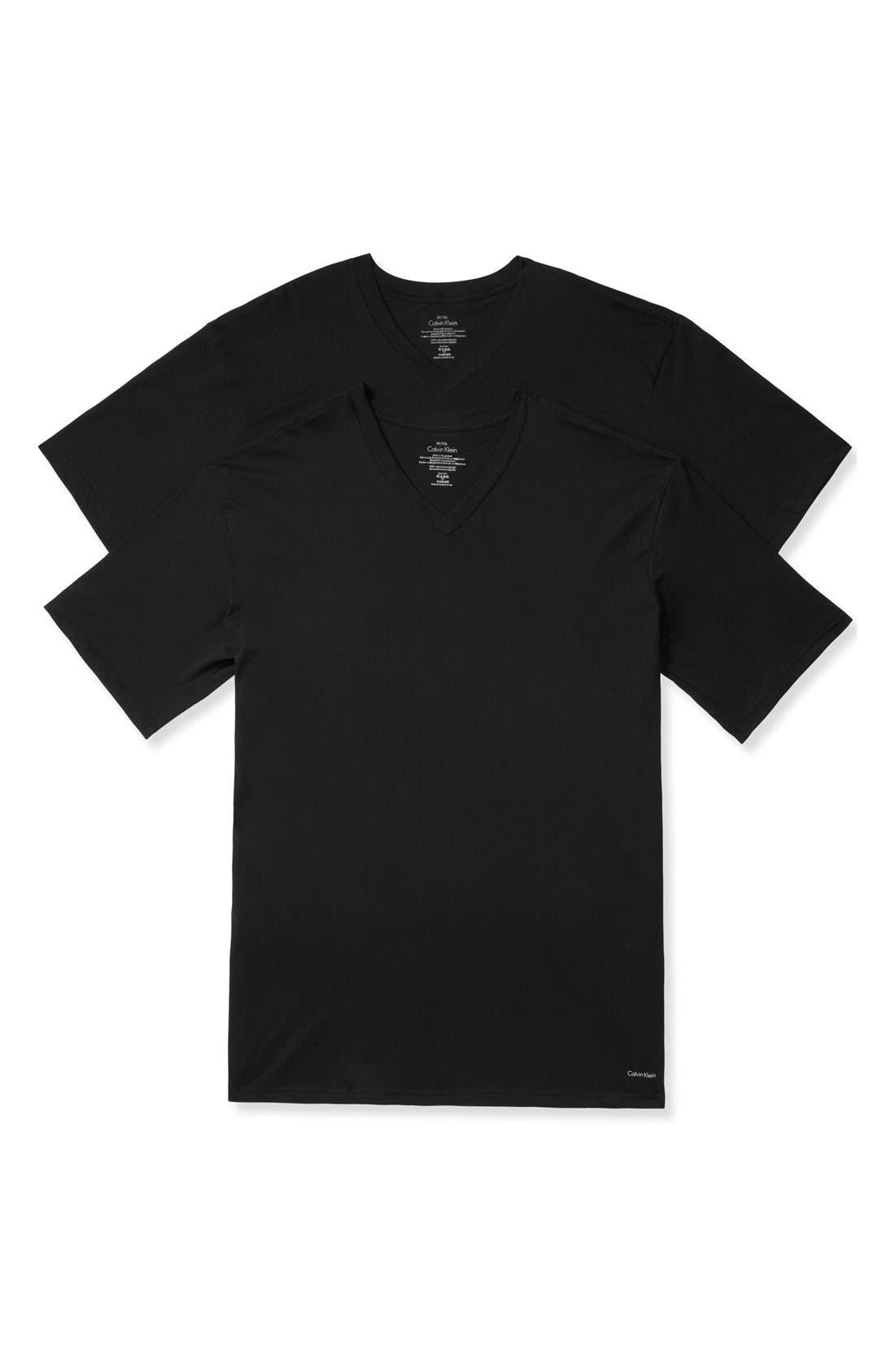 Alternate Image 1 Selected - Calvin Klein 2-Pack Cotton T-Shirt