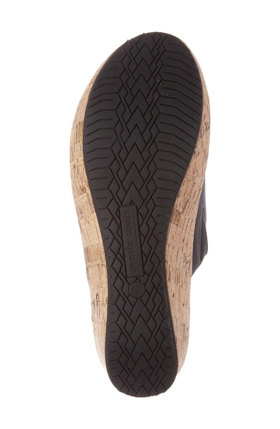 Alternate Image 4  - Gentle Souls 'Megan' Platform Wedge Sandal (Women)