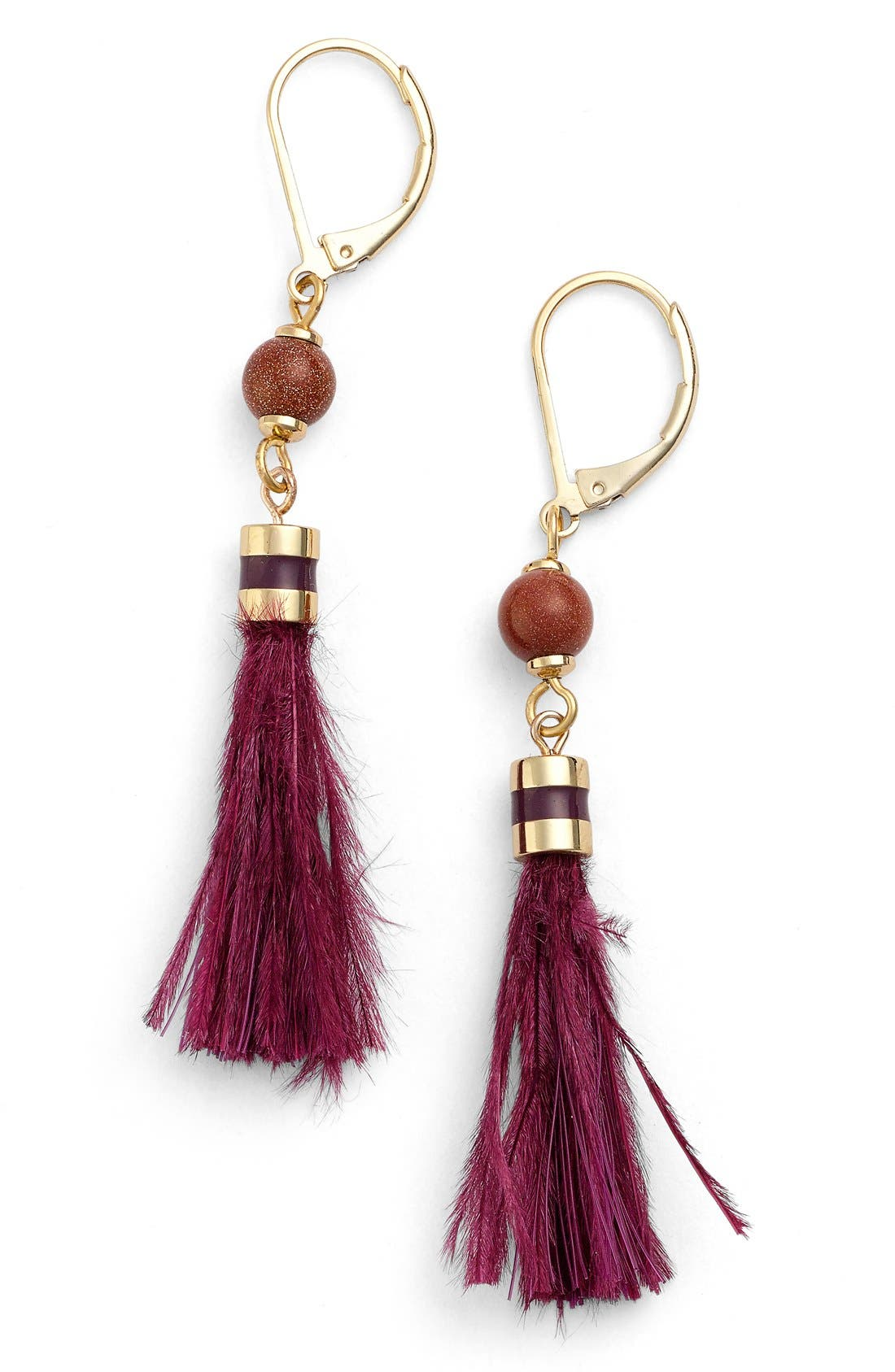 Alternate Image 1 Selected - kate spade new york 'swing time' small tassel earrings