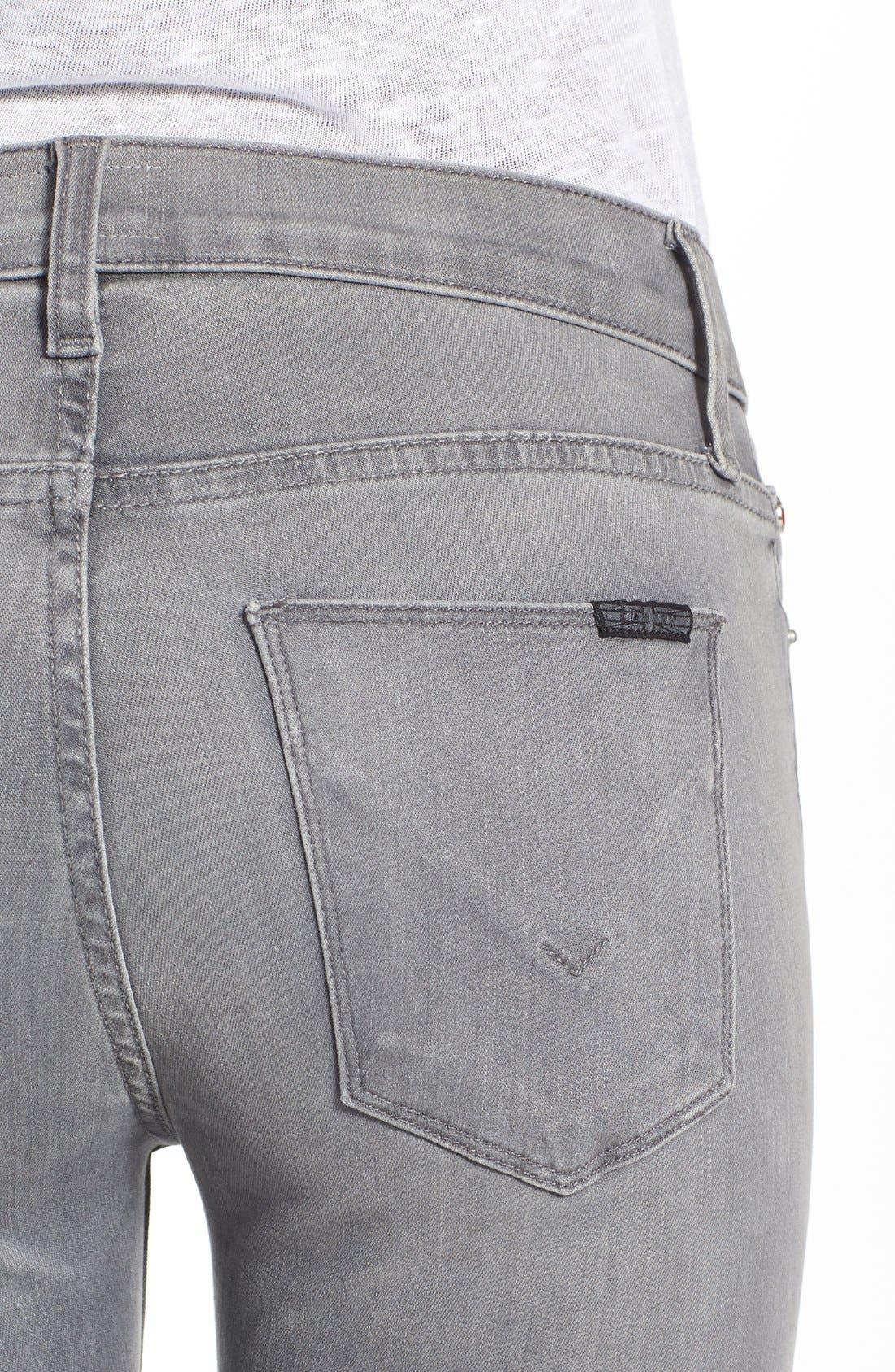 'Nico' Super Skinny Jeans,                             Alternate thumbnail 4, color,                             Spark Plug