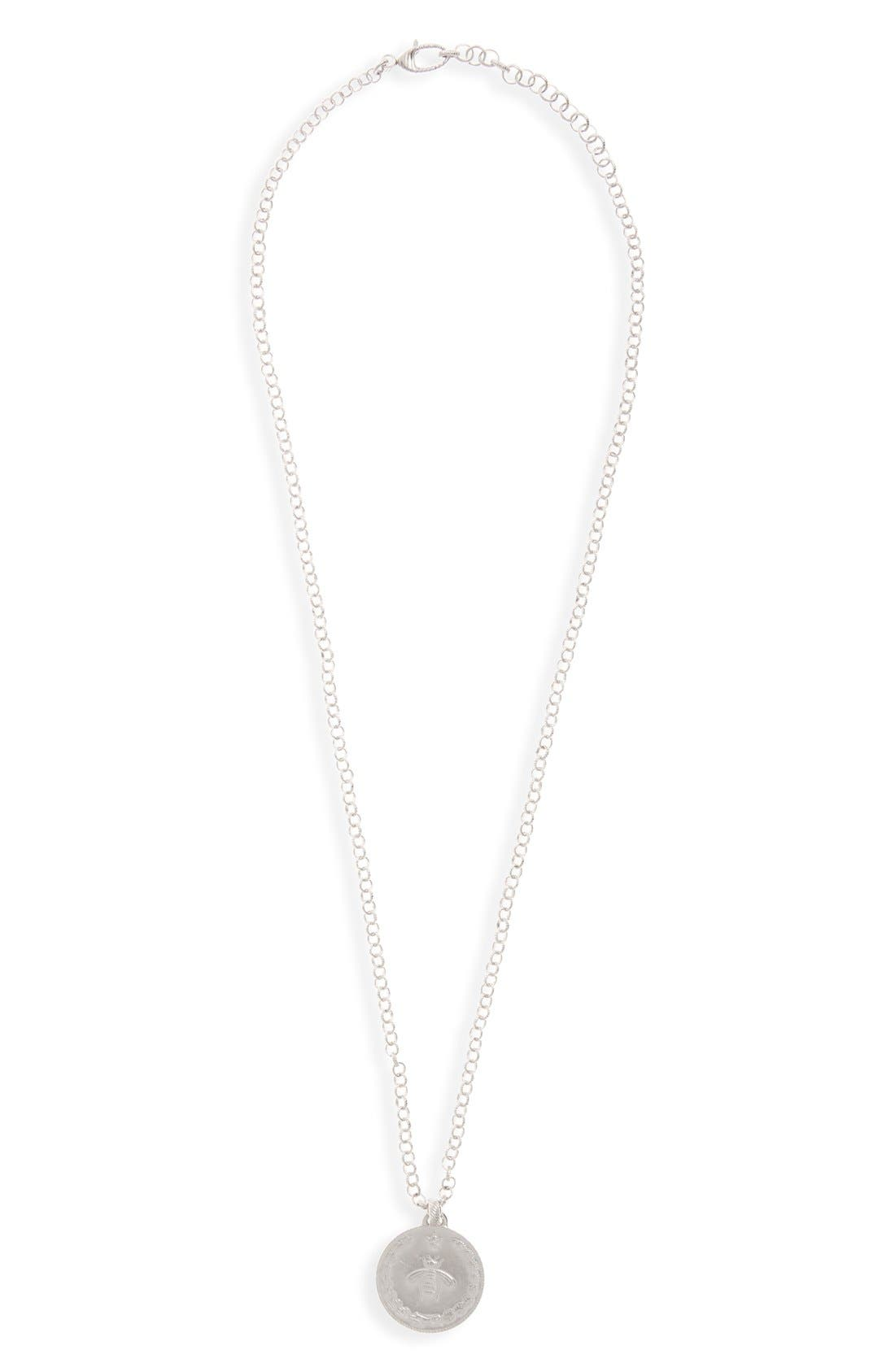 gucci necklace mens. gucci bee coin pendant necklace mens