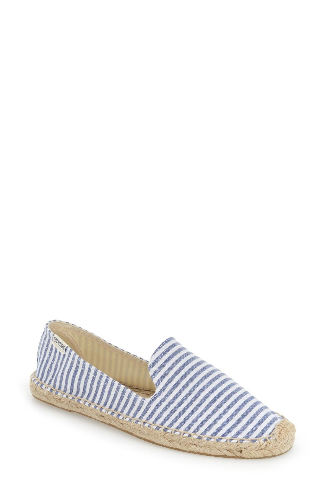 Alternate Image 1 Selected - Soludos Smoking Slipper Espadrille (Women)
